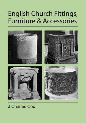 Picture of English Church Fittings, Furniture and Accessories