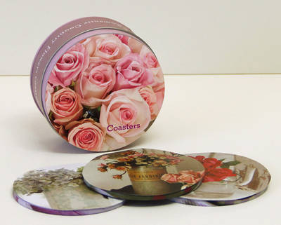 Picture of Romantic Country Flowers Coasters
