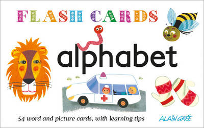 Picture of Alphabet: 54 word and picture cards, with learning tips