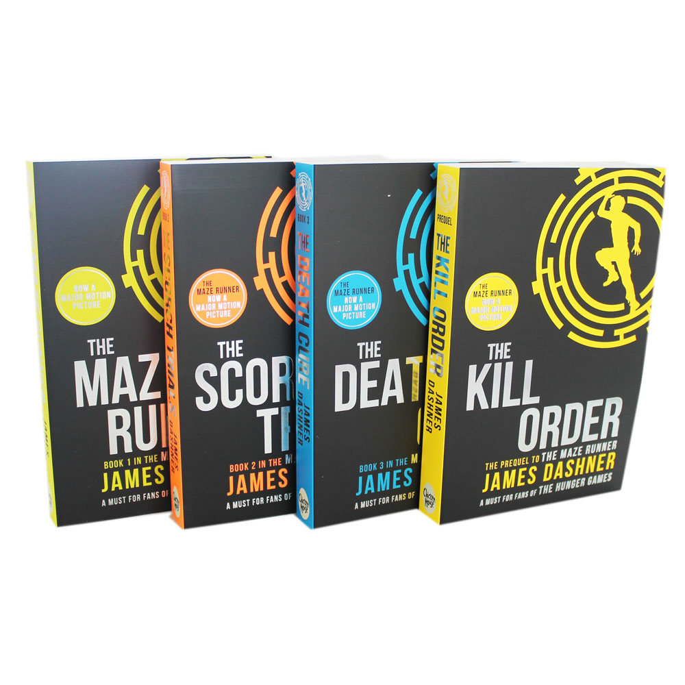 Picture of Maze Runner 4 Book Set