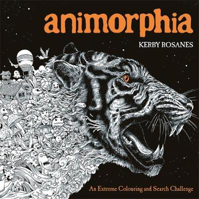 Picture of Animorphia: An Extreme Colouring and Search Challenge