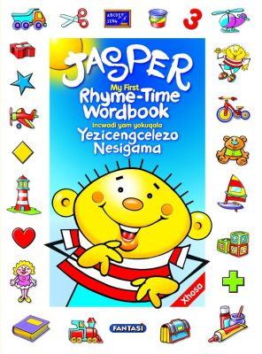 Picture of Jasper's rhyme-time wordbook