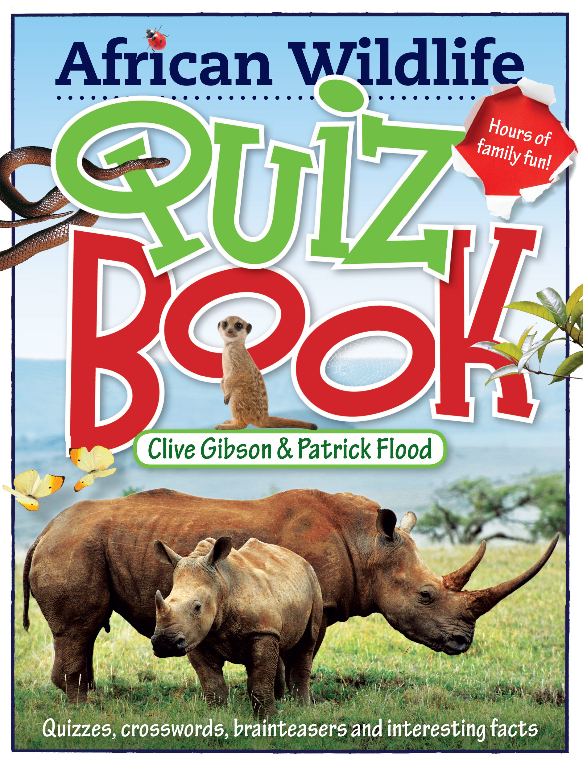Picture of African Wildlife Quiz Book