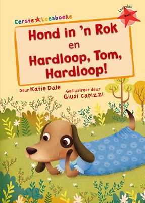 Picture of Hond in 'n rok & Hardloop Tom hardloop: Leesvlak rooi