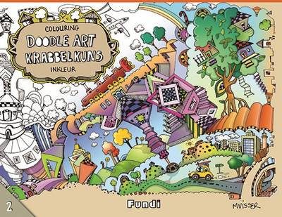 Picture of Krabbelkuns inkleur - Doodle art colouring