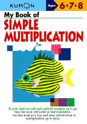 Picture of My Book of Simple Mulitiplication