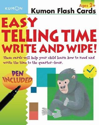 Picture of Easy Telling Time Write and Wipe!
