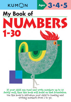 Picture of My Book of Numbers 1-30