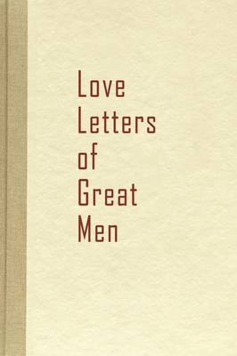 Picture of Love Letters of Great Men