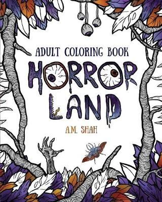 Picture of Adult Coloring Book: Horror Land