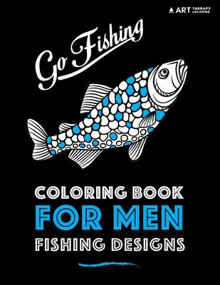 Picture of Coloring Book for Men: Fishing Designs