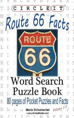 Picture of Circle It, U.S. Route 66 Facts, Word Search, Puzzle Book