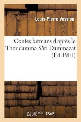 Picture of Contes Birmans D'Apres Le Thoudamma Sari Dammazat