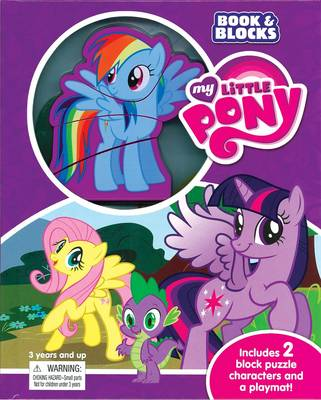 Picture of My Little Pony Book and Blocks
