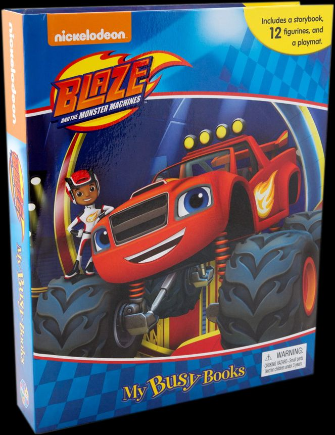 Picture of Blaze and the Monster Machines: My Busy Book