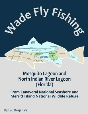 Picture of Wade Fly Fishing Mosquito Lagoon and North Indian River Lagoon (Florida) from Canaveral National Seashore and Merritt Island National Wildlife Refuge