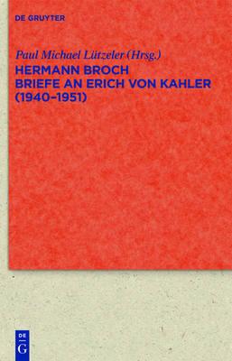 Picture of Briefe an Erich Von Kahler (1940-1951)
