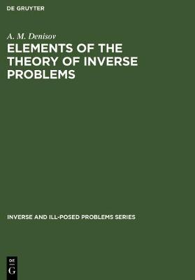 Picture of Elements of the Theory of Inverse Problems