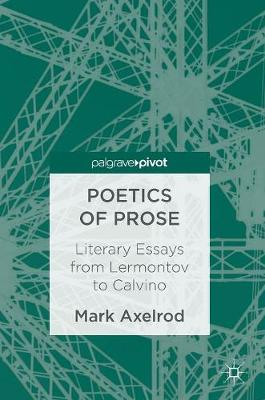 Picture of Poetics of Prose: Literary Essays from Lermontov to Calvino