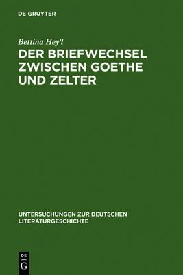 Picture of Der Briefwechsel Zwischen Goethe Und Zelter