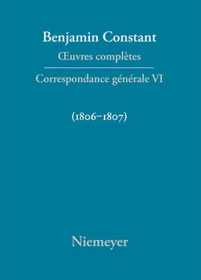 Picture of Correspondance Generale 1806-1807