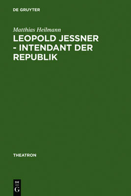Picture of Leopold Jessner - Intendant Der Republik