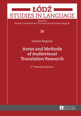 Picture of Areas and Methods of Audiovisual Translation Research