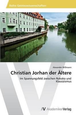 Picture of Christian Jorhan Der Altere