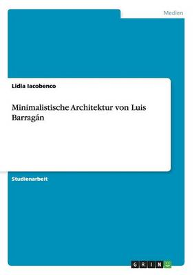 Picture of Minimalistische Architektur Von Luis Barragan