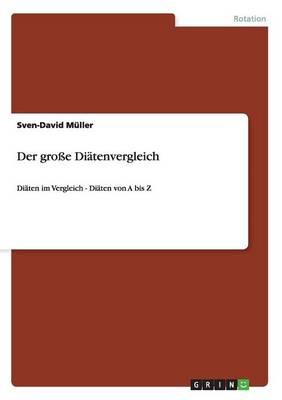 Picture of Der Groe Diatenvergleich
