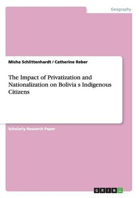 Picture of The Impact of Privatization and Nationalization on Bolivia S Indigenous Citizens