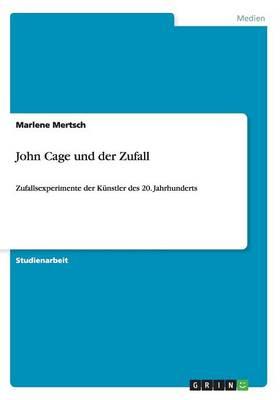 Picture of John Cage Und Der Zufall