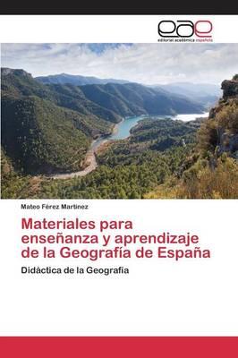 Picture of Materiales Para Ensenanza y Aprendizaje de la Geografia de Espana