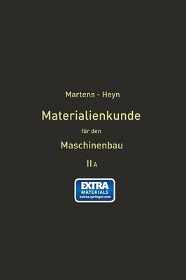 Picture of Handbuch Der Materialienkunde Fur Den Maschinenbau