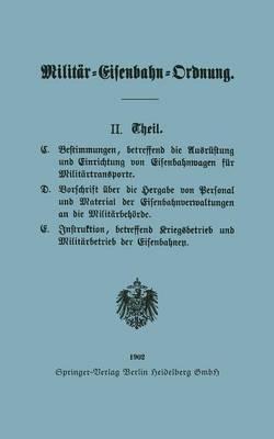 Picture of Militar-Eisenbahn-Ordnung