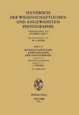 Picture of Wissenschaftliche Anwendungen Der Photographie: Zweiter Teil Mikrophotographie