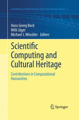 Picture of Scientific Computing and Cultural Heritage: Contributions in Computational Humanities