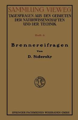 Picture of Brennereifragen: Kontinuierliche Garung Der Rubensafte Kontinuierliche Destillation Und Rektifikation