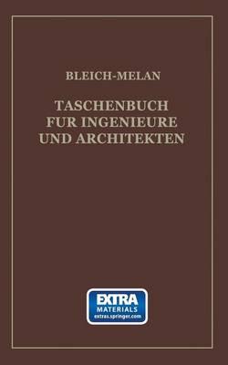 Picture of Taschenbuch Fur Ingenieure Und Architekten