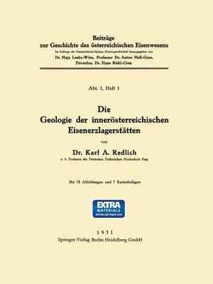 Picture of Die Geologie Der Innerosterreichischen Eisenerzlagerstatten