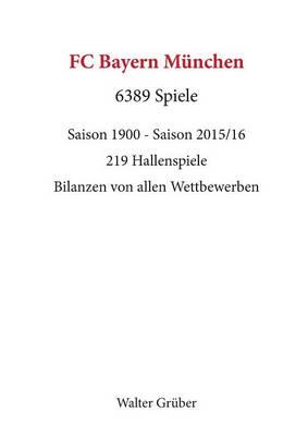 Picture of FC Bayern Munchen. 6389 Spiele