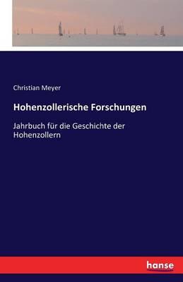Picture of Hohenzollerische Forschungen