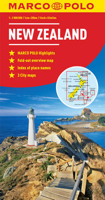 Picture of New Zealand Marco Polo Map