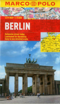 Picture of Berlin Marco Polo City Map