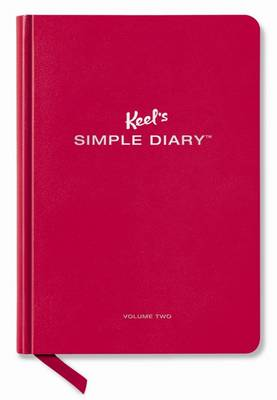 Picture of Keel's Simple Diary Volume Two (dark Red): The Ladybug Edition