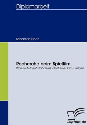 Picture of Recherche Beim Spielfilm