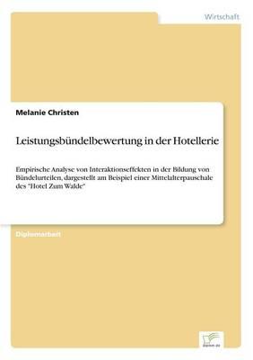 Picture of Leistungsbundelbewertung in Der Hotellerie