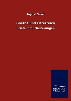 Picture of Goethe Und Sterreich