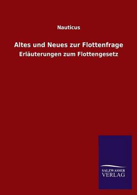 Picture of Altes Und Neues Zur Flottenfrage