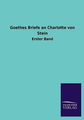 Picture of Goethes Briefe an Charlotte Von Stein